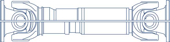Transmisión a cardan para industria, modelo 550.50-.55